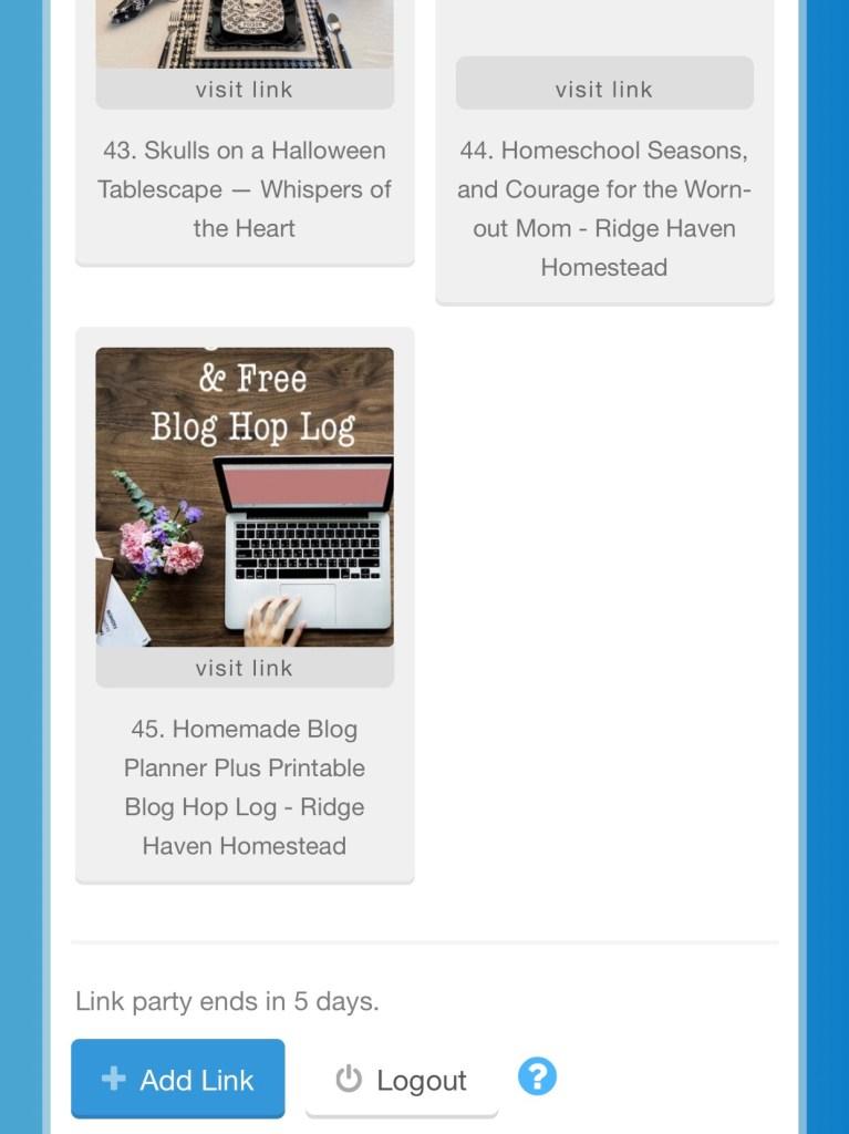 Inlinkz blog hop