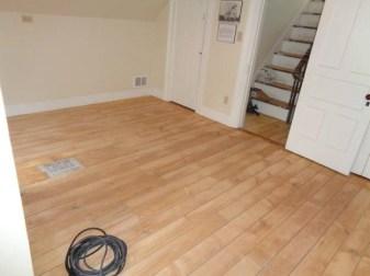 May 3 – second floor bedroom floor sanded