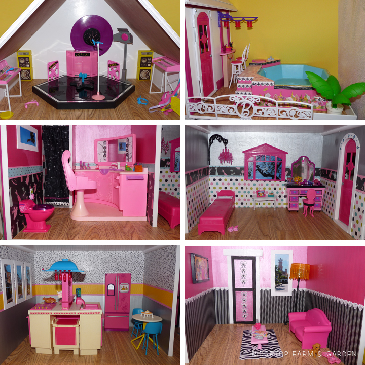Dollhouse Finished Rooms