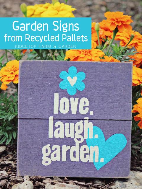 Garden Sign Title