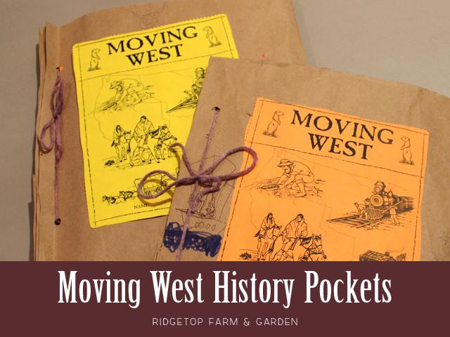 Ridgetop Farm & Garden |History Pockets | Moving West