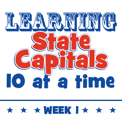 Learning State Capitals – Week 1