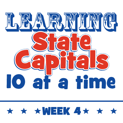Learning State Capitals – Week 4
