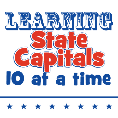 Learning State Capitals – 10 each week