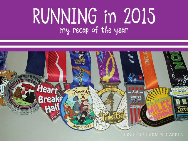 Ridgetop Farm and Garden | Running Recap of 2015