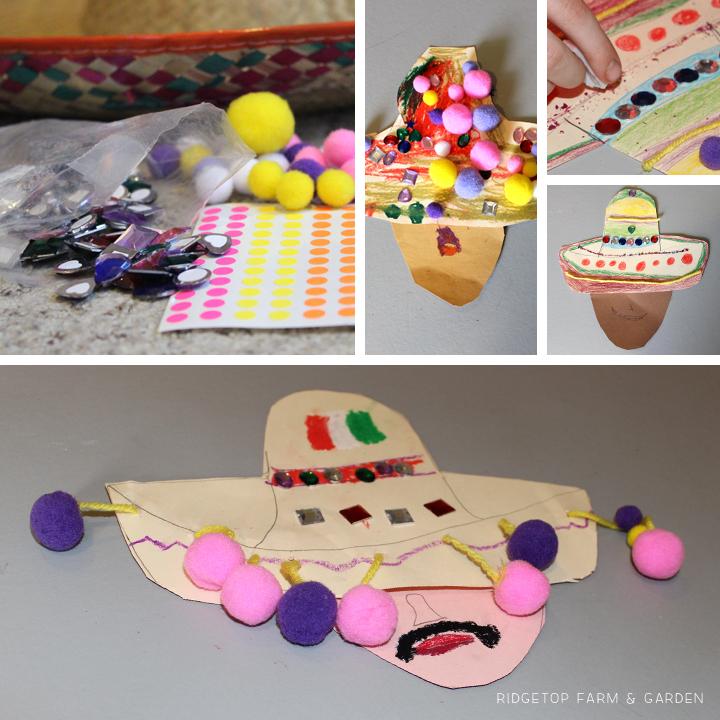 Ridgetop Farm and Garden | Home School | Mexico | Sobrero | Kid Craft