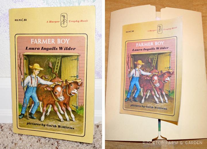 Ridgetop Farm and Garden | Home School | Laura Ingalls Wilder | Farmer Boy | Lapbbook