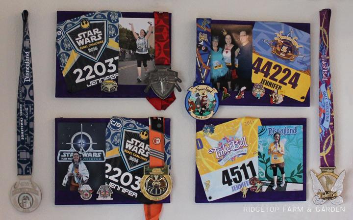 Ridgetop Farm and Garden | Disney Gallery Wall | Run Disney Race Canvas