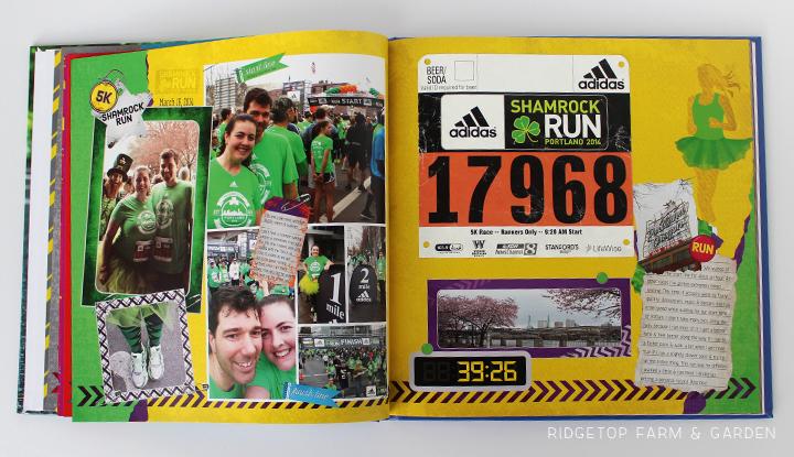 Ridgetop Farm and Garden   Running   Road to a Half Marathon Photo Book   Shamrock Run 2014