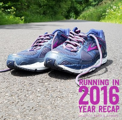 Running Recap of 2016