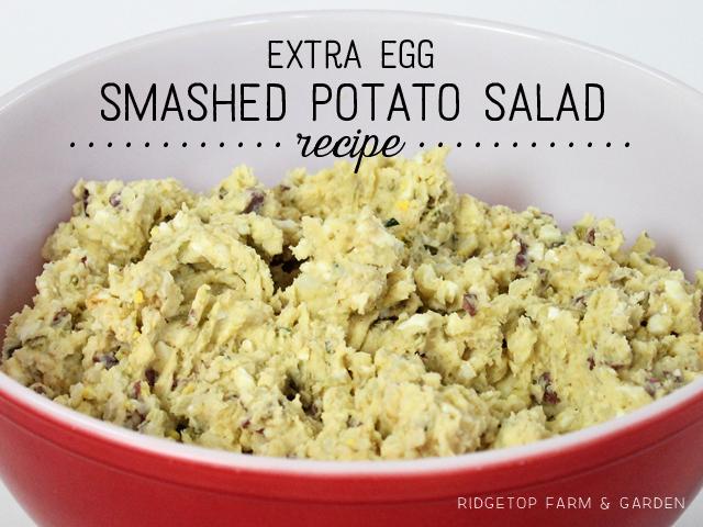 Ridgetop Farm and Garden | Recipe | Smashed Potato Salad