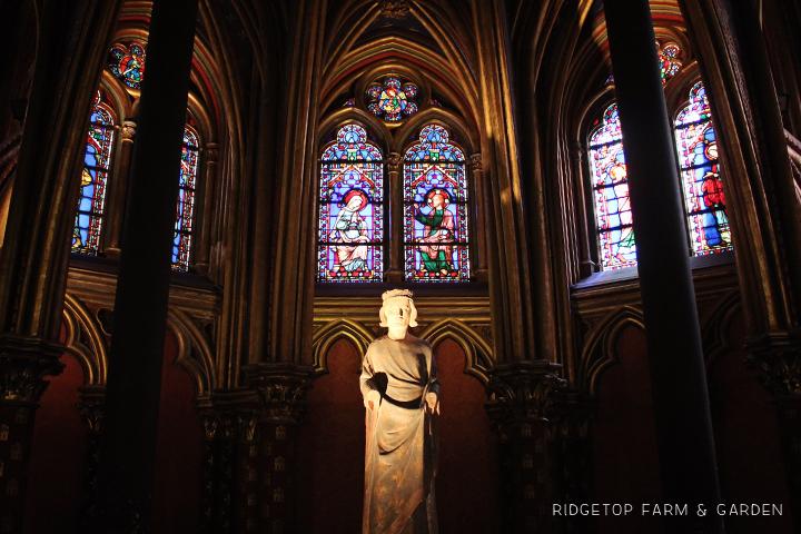 Ridgetop Farm and Garden | Travel | Europe | Paris | Sainte Chapelle