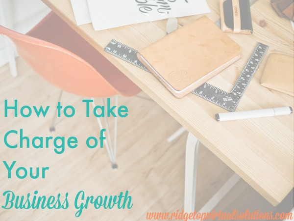 How to Take Charge of Your Business Growth Plan