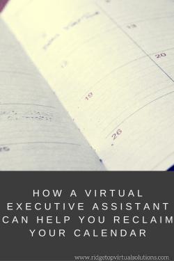 How a Virtual Executive Assistant Can Help You Reclaim Your Calendar (1)