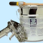 Zinga Paint and Spray Gun