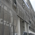 Metal Mesh Feature Cladding