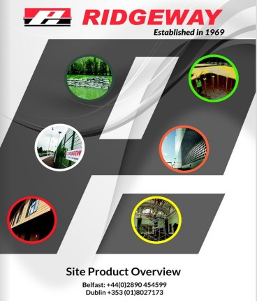 Launch of New Site Products Overview Brochure