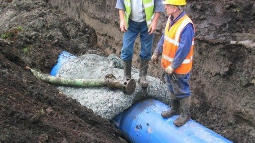 Water main ballast – Portadown, Co Armagh