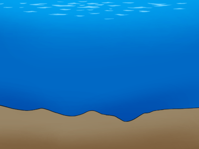 Uneven Seabed