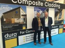 Damien Kelly and Paul Fletcher at Eco Build