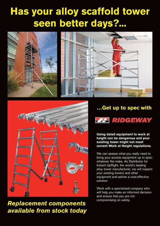 Ridgeway scaffolding repair service
