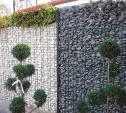 Zenturo fencing combines the design and appeal of gabion walling with the versatility of upright boundary fencing