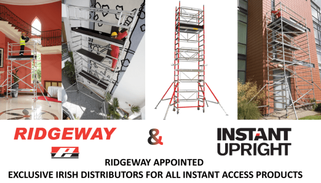 Ridgeway Appointed Exclusive Irish Distributors for All Instant Products