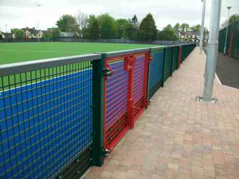 Ridgeway are specialists in sports fencing solutions