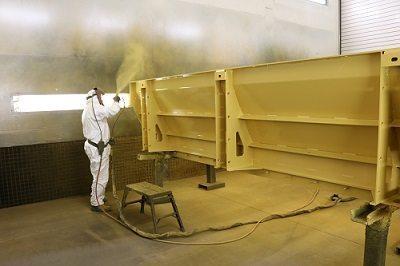 Graco paint spraying equipment