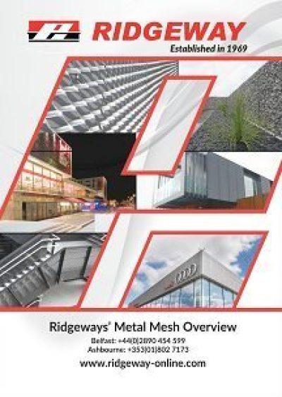 Ridgeway metal mesh overview brochure