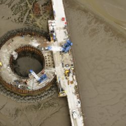 Central cofferdam supplied by Ridgeway