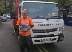Ridgeway are supporting local charity, The Simon Community