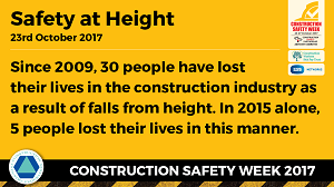 Ridgeway are supporting Construction Safety Week