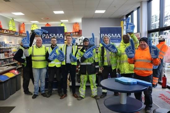 Ridgeway Support PASMA Tower Safety Week