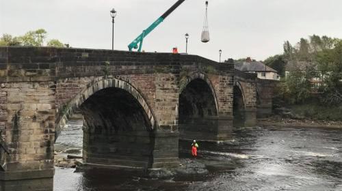 Ridgeway Filter Units successfully installed on bridge piers