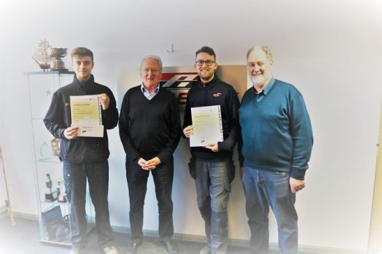 Staff Awarded APPSNI Level 3 Certificate in Engineering