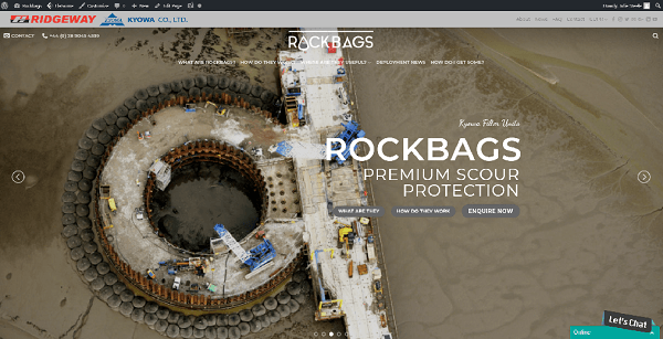 Check out our new Filter Unit Rockbags Website
