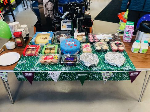 £600 Raised for Macmillan Cancer Support