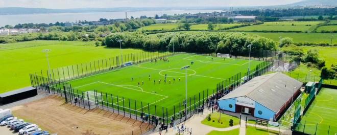Ridgeway Supply Fencing Systems for Greenisland FC