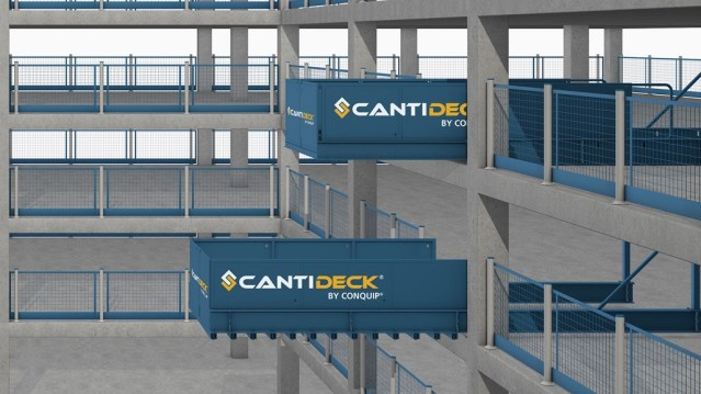 CantiDeck Stocked by Ridgeway
