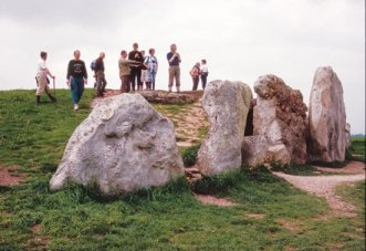West Kennet long barrow: Copyright Natural England / Jos Joslin