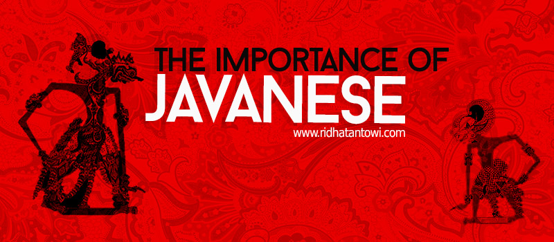 The Importance of Javanese