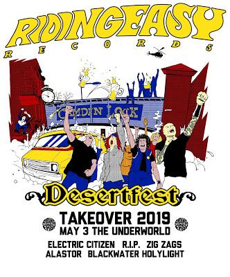 RidingEasy Records at DesertFest UK 2019