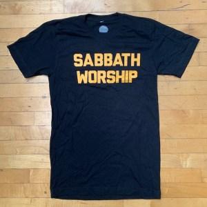 sabbath worship shirt