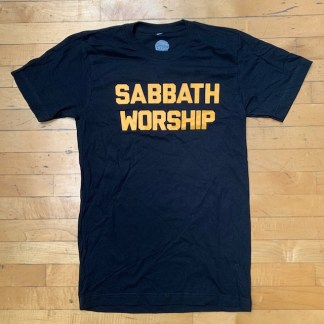 sabbath worship shirt