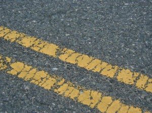 Pavement texture affects the amount of traction available.