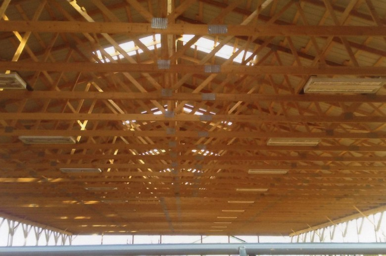 arena roof beams