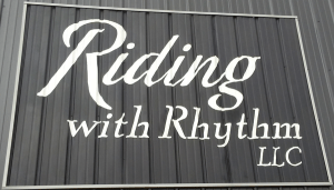 Riding With Rhythm LLC wordmark