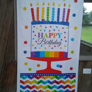 Riding With Rhythm birthday banner