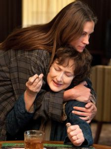julia roberts, meryl streep, august: osage county, film review, chris doelle,